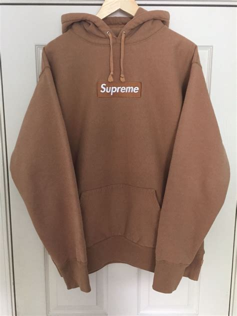 where can i find supreme clothing khaki box logo hoodie bogo clothes shoes and