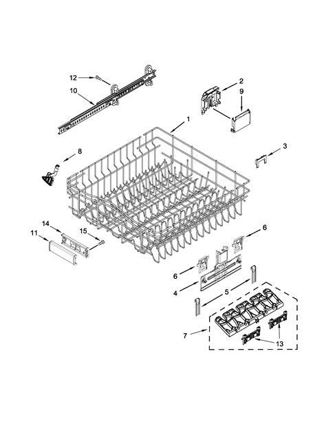 Kitchenaid Dishwasher Parts by Kitchenaid Dishwasher Parts Model Kdfe204ess1 Sears