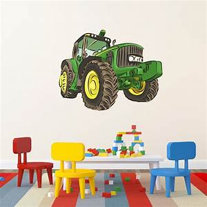 Tractor wall decal tractor wall sticker wallums for Best 20 wallums wall decals reviews