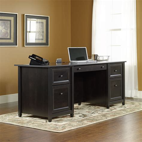 Sauder Edge Water Computer Desk Assembly by Sauder Edge Water Executive Desk 409042