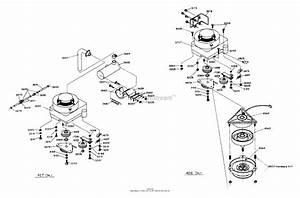 Dixon Ztr 427  1987  Parts Diagram For Engine Assembly