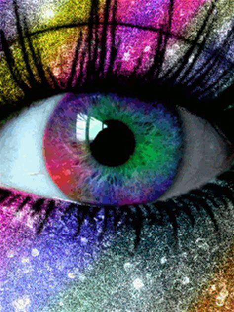 Animated Eye Wallpaper - eye gif animation abstract rainbow eye mobile wallpaper