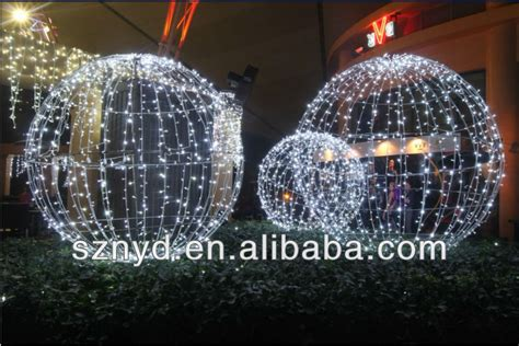 giant led christmas ball  outdoor decorations buy