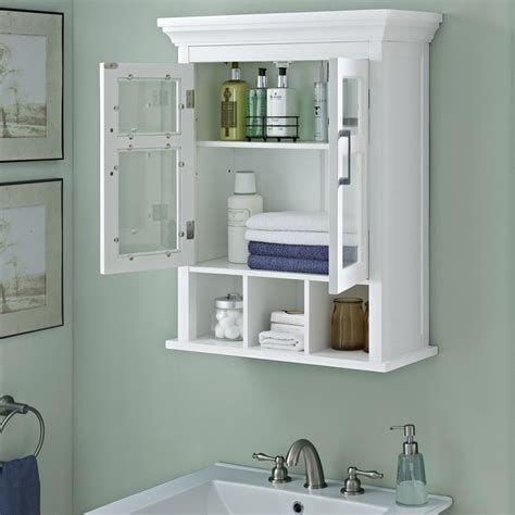 How To Hang A Bathroom Cabinet On The Wall by Bathroom Cabinets Wall Hang Bathroom Accessories