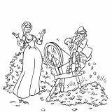 Coloring Fantasy Warrior Fairy Lady Rumplestiltskin Tale sketch template