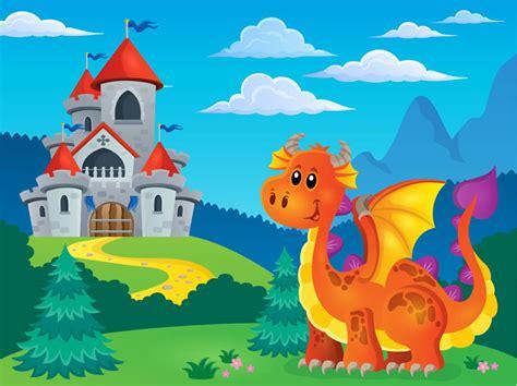 cuento infantil el dragon salvador bosque de fantasias