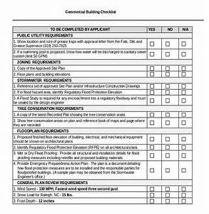 Building checklist template free download checklist for Part p document download