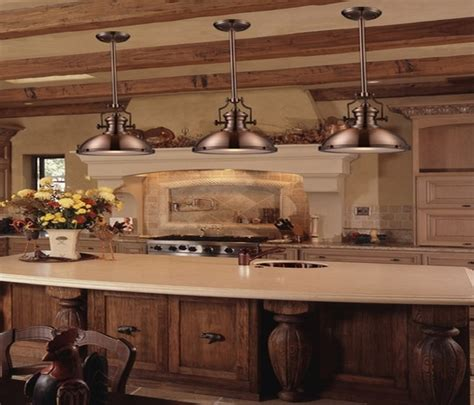 country kitchen lighting rustic country