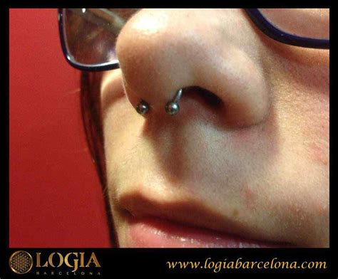piercing en la nariztipos  imagenes logia piercing