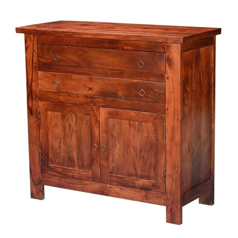 Sideboard Buffet Cabinet by Mission Classic Acacia Wood Buffet Sideboard Cabinet