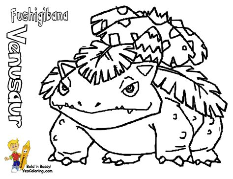 Fo' Real Pokemon Coloring Pages