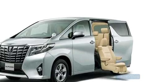 Toyota Alphard Backgrounds by 2016 Toyota Alphard Pictures Information And Specs