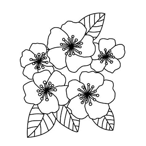 Kleurplaat Bloemen by Leuk Voor Bloemen