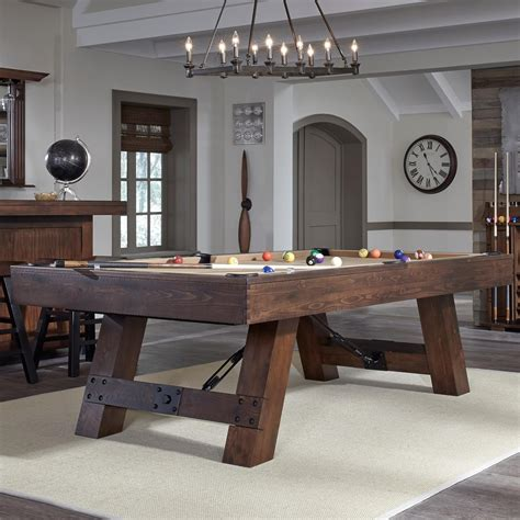 american heritage billiards rustic billiard table