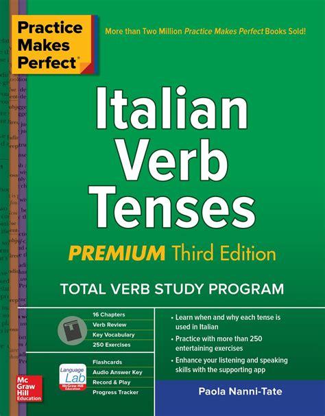 practice  perfect italian verb tenses