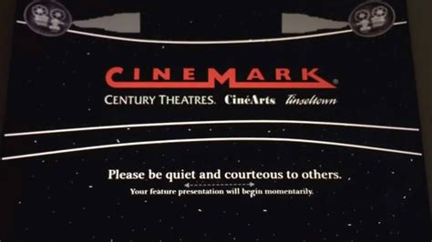 Cinemark Cellphone Policy (2008-2013 present) - YouTube