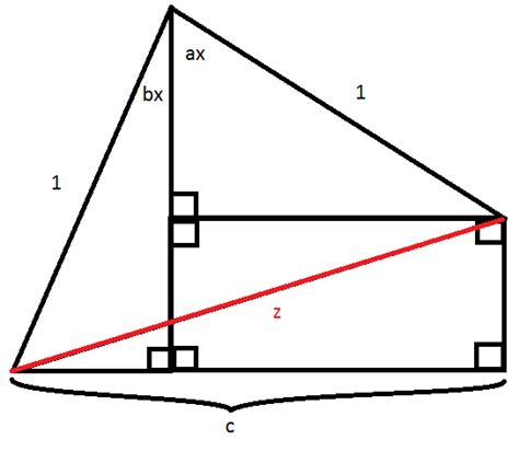 Math Geometry Diagram by Geometry Length Of Line Segment In Diagram Mathematics