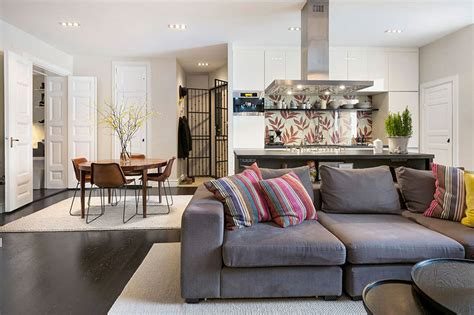 Design For Small Living Room And Kitchen by 20 Best Small Open Plan Kitchen Living Room Design Ideas