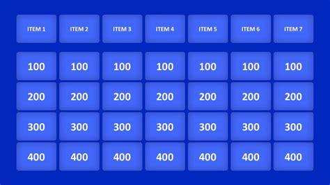 jeopardy powerpoint template template jeopardy powerpoint template