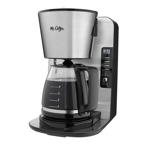 The particular coffee makers we're reviewing today have the capacity of 4 cups. Mr. Coffee 12-Cup Programmable Coffee Maker & Reviews | Wayfair