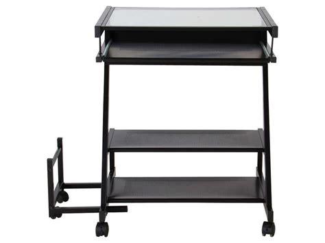 bureau pour ordinateur conforama bureau informatique fusion ii coloris noir vente de
