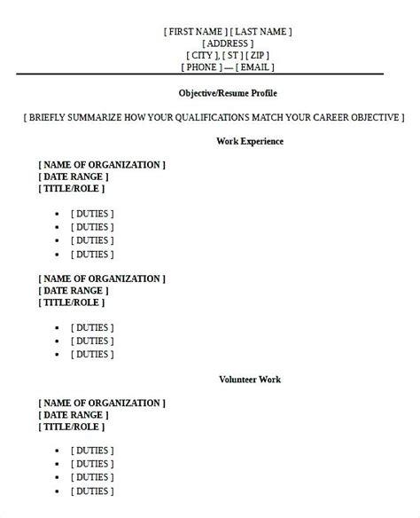 high graduate resume format pdf free sles