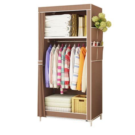 Small Wardrobe by Fashion Simple Style Small Wardrobe Clothe Storage