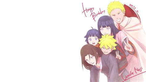 Anime Birthday Wallpaper - happy birthday neji hd wallpaper background image