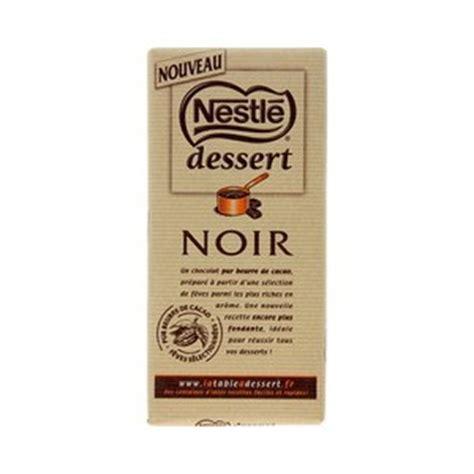 dessert chocolat nestl 233