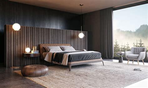 bed room poliform  behance modern bedroom design