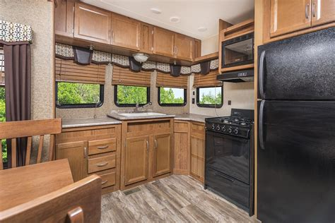 kitchen cabinets models kingsport lodge series destination trailers gulf 3110