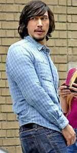 Adam Driver on the set of Girls Season 5, 2014   Adam ...