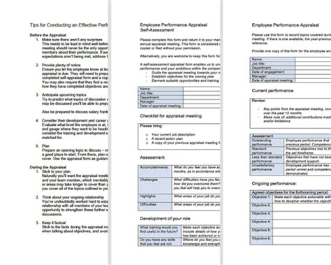 filling the appraisal form performance appraisal forms free appraisal toolkit