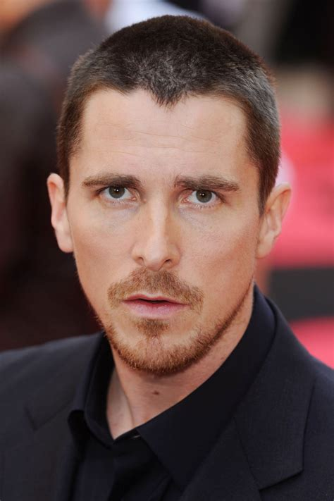 Christian Bale Hairstyles Men Short Long