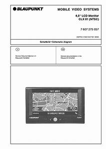 Blaupunkt 6 5 Inch Clx01 Lcd Monitor Service Manual