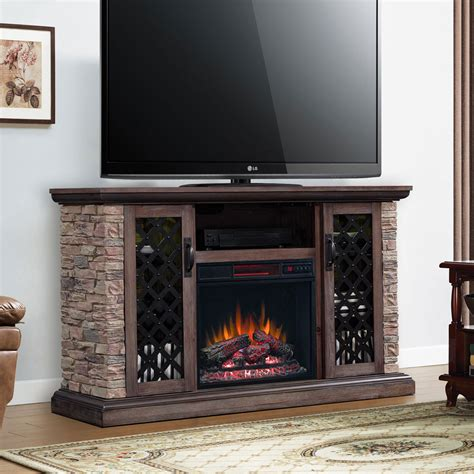 tv stands with fireplace capitan electric fireplace tv stand in 23mm10646 i613