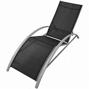 Chaise Longue Aluminium : chaise longue en aluminium 5 positions ~ Teatrodelosmanantiales.com Idées de Décoration