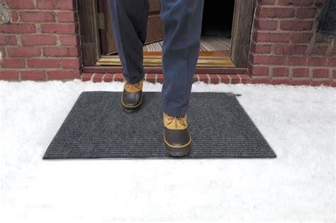 snow doormat snow melting mats heated floor mats snow melter