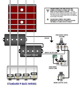 i need a wiring diagram for fernandes bass fixya