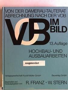 Abrechnung Nach Gutachten Musterbrief : abrechnung nach der vob von damerau zvab ~ Themetempest.com Abrechnung
