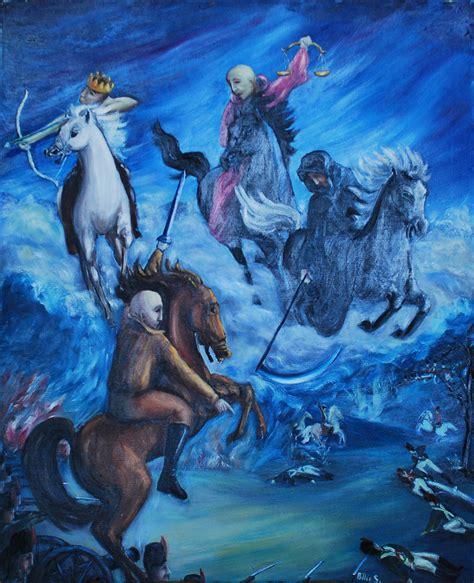 horsemen apocalypse four unarius artist artwork stafford mcintyre billie