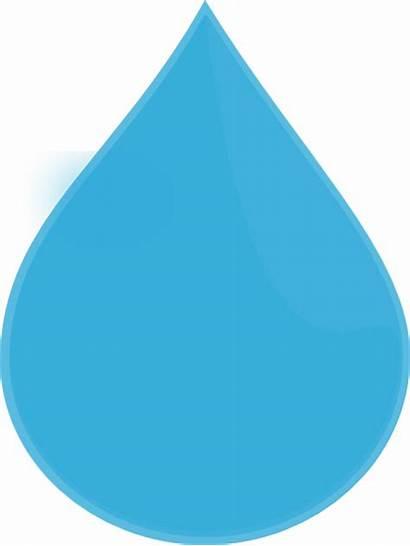 Drop Water Clipart Vector Clip Icon Droplet
