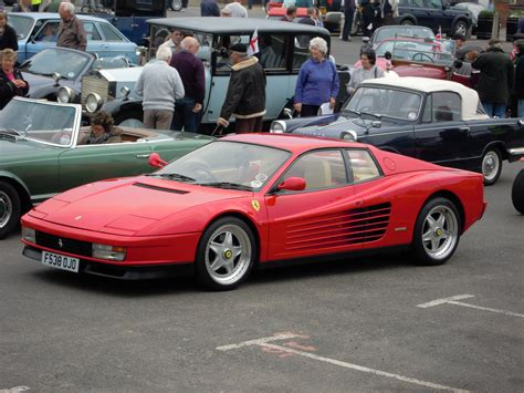 File:A Ferrari Testarossa Classic Car Rally, Sheringham ...