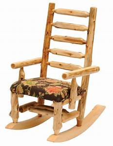 Cedar, Standard, Fabric, Upholstered, Rocking, Chair, From, Fireside, Lodge, 13210
