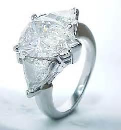 pear cut engagement rings pear cut wedding ring