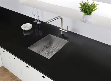 Bar With Sink by Ruvati 16 Inch Undermount 16 Zero Radius Bar Prep