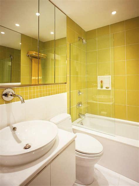 yellow bathrooms youd  glad  wake   page