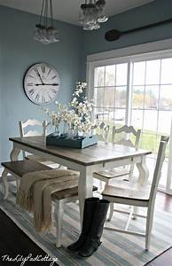 summer showcase of homes house tour the lilypad cottage With kitchen colors with white cabinets with dinning room wall art