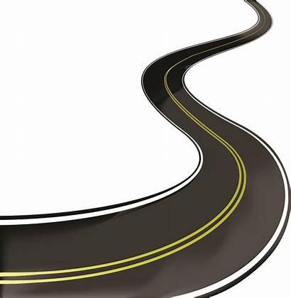 Road Clipart Highway Vector Roads Way Asphalt