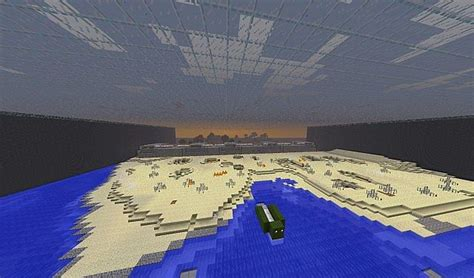 day omaha beach mini game map minecraft project